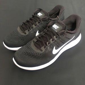 1e2336c935de0f Nike Lunarglide 8 AA8676-001 Black White 12
